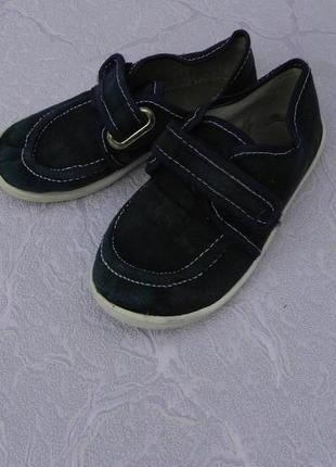 Мокасины туфли 27 размер 16,5см стелька