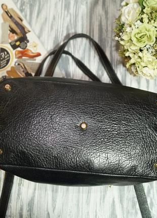Arcadia. кожа. практичная сумка на 3 отделения2 фото