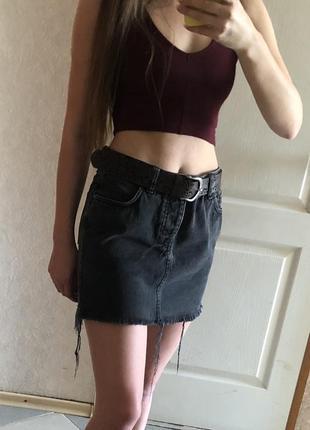 65b853ca610 Джинсовые юбки Asos 2019 - купить недорого вещи в интернет-магазине ...