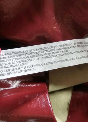Лаковая юбка zara❤️8 фото