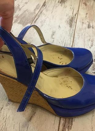 Туфли на платформе сабо