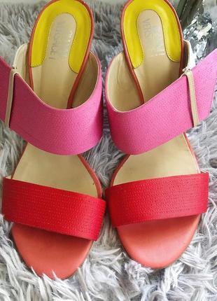Яркие винтажные туфли gianni versace, оригинал