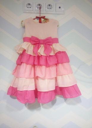 Обалденное нарядное платье американского бренда gymboree.