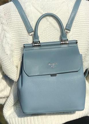 Рюкзак в городском стиле david jones 5954 голубой