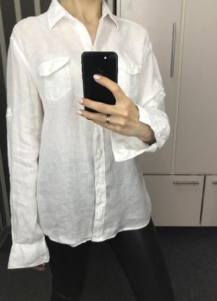 Рубашка gant лён