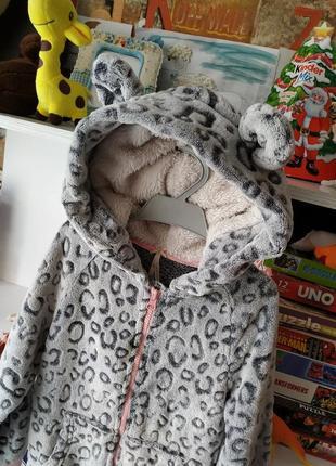 Супер пижама кигуруми next на девочку 7 лет, 122 см
