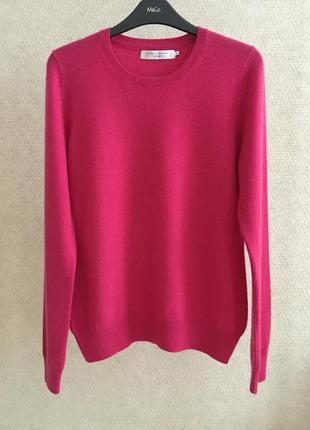 Кашемировый свитер с круглой горловиной john lewis 100% кашемир