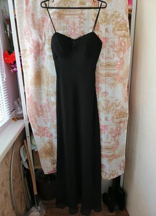 Розкішна вечірня сукня розмір l