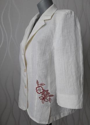 Чудесная, легкая, нежная, из льняной ткани, женственная кофточка. беларусь.