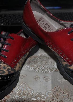 Wonders comfort шикарные туфли ручной труд оригинал испания