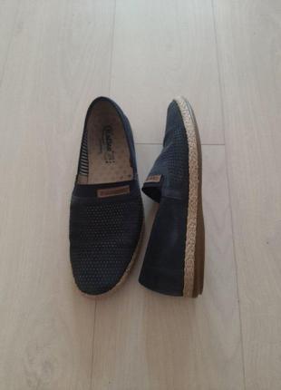 Эспадрильи, мужская летняя обувь