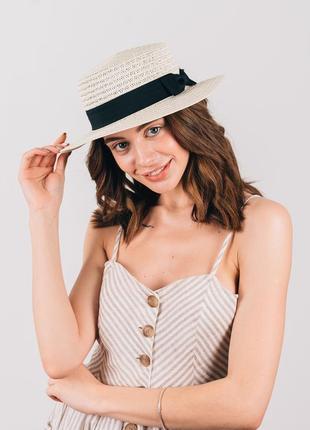 Женские шляпы канотье!