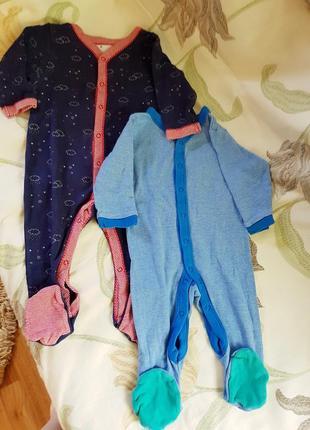 Комплект фирменных вещей на мальчика 6-9  месяцев