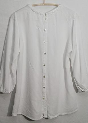 Opus, блуза белая рубашка