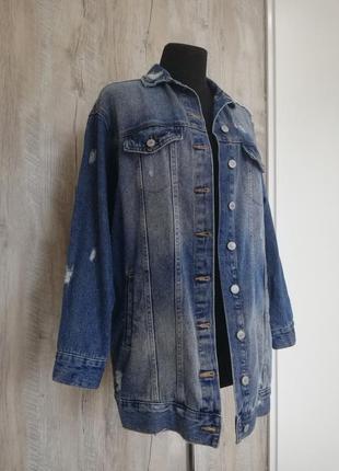Стильная джинсовка oversize