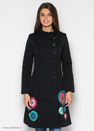 Шикарное пальто люкс бренда desigual