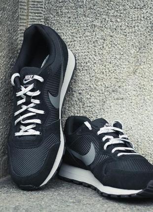 Кожание кроссовки nike md runner 2 {оригинал}!4 фото