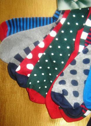 Отличный подарок - двенадцать пар веселых хлопковых носочков от tchibo, германия - 12 пар