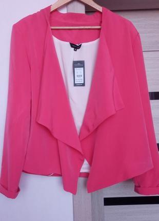 Лёгкий летний яркий пиджак new look