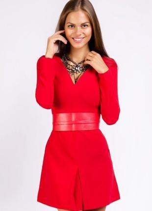 Красное мини платье love republic