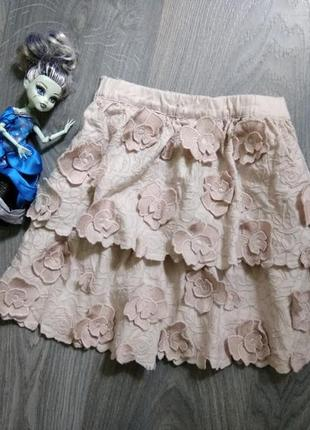 6-7л h&m юбка юпка спідниця
