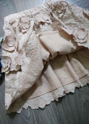 6-7л h&m юбка юпка спідниця4 фото