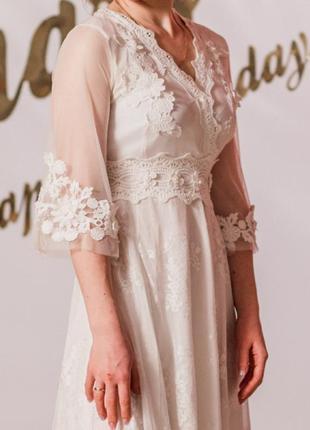 Ідеальна біла сукня!3 фото