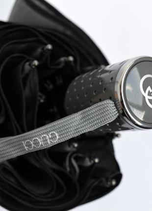 Модный зонт автомат серого цвета в подарочной коробке2 фото