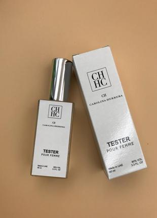 Женская парфюмированная вода carolina herrera ch тестер 60 мл