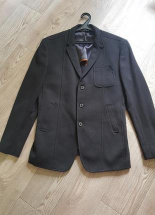 Пиджак zara черный