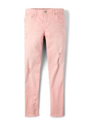 Пудровые джинсы скинни children´s place размер 14