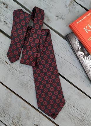 Галстук, стильный аксессуар, галстук hugo boss, оригинал