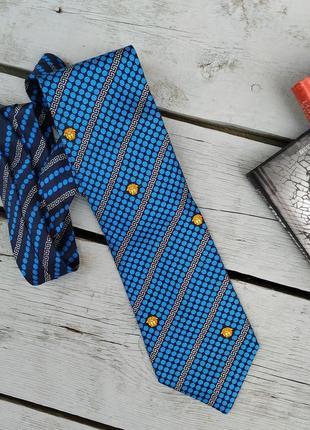Стильный галстук, мужской аксессуар, gianni versace, италия
