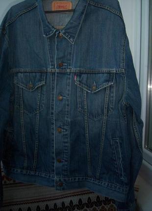 Ветровка джинсовая  размер xl