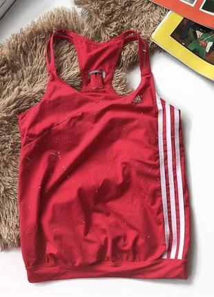 Оригінал, спортивна майка adidas, яскравого кольору з гарною відкритою спинкою