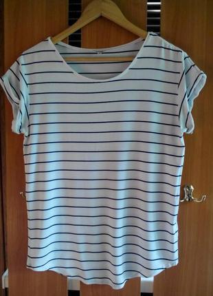 Трендовая футболка в полоску mbym nisha