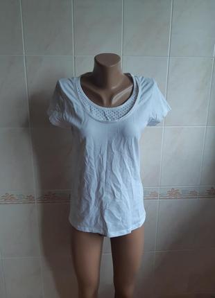 Белая футболка biaggini