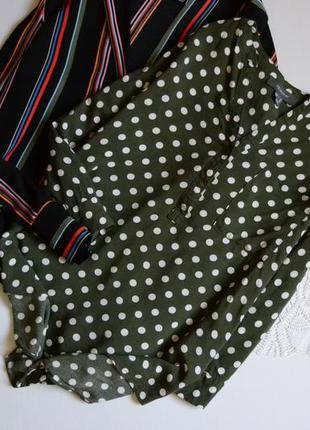 1+1=3 🌷🎀🛍 блуза в горошок актуальна primark