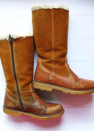 Зимние кожаные сапоги fullstop 30 размер.
