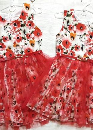 Невероятно красивое нарядное  летнее платье на девочку