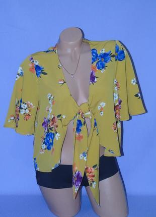 Актуальная блузочка/цветочный принт