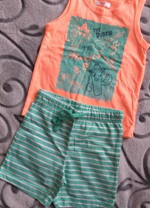 Набор футболка и шорты pepco