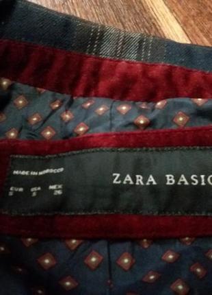 Стильный пиджак-zara--s\m3 фото