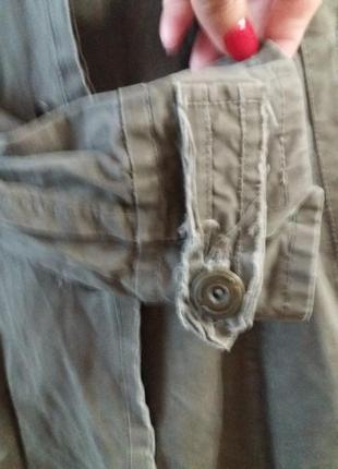 Джинсовый плащ полированый котон- в стиле casual- betty jackson124 фото