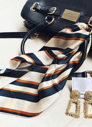 Шёлковый платок твилли - тренд этого лета