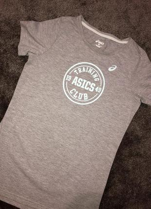 Серая футболка asics4 фото