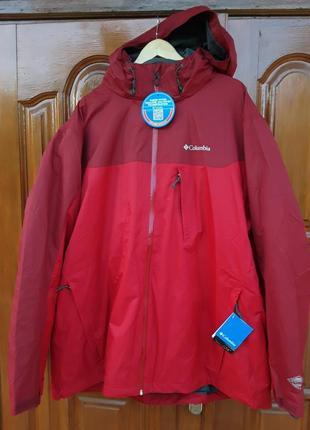 Брендова фірмова куртка  columbia 3 в 1,оригінал, нова з бірками.