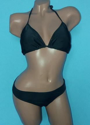 Шикарный черный купальник