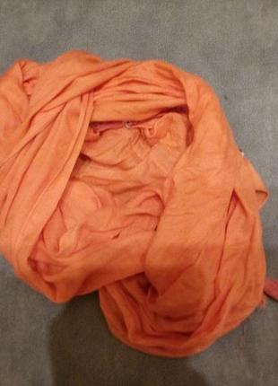 Яркий шарф-палантин-бренд- laшa t.                     вискоза2 фото