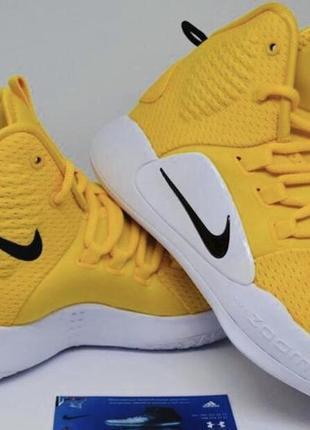 Nike hyperdunk x. размер 36/23 см/4 us. style: basketball. баскетбольн